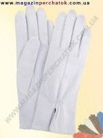 Модель № 137 Перчатки женские из натуральной кожи на шерстяной подкладке. Кожа производства Италии.