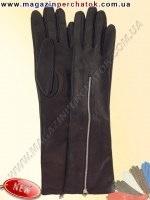 Модель № 480 Перчатки женские длинные на шелковой подкладке. Кожа производства Италии.
