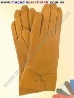 Модель № 132 Перчатки женские из натуральной кожи на шерстяной подкладке. Кожа производства Италии.