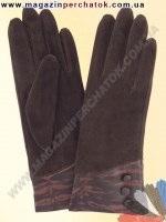 Модель № 131 Перчатки женские из натуральной кожи на шерстяной подкладке. Кожа производства Италии.