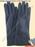 Модель № 130 Перчатки женские из натуральной кожи на шерстяной подкладке. Кожа производства Италии.