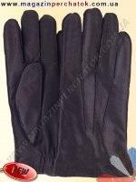 Модель № 497 Перчатки мужские из натуральной кожи на шерстяной подкладке. Кожа производства Италии.