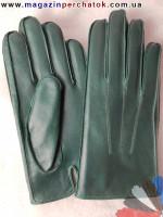 Модель № 499 Перчатки мужские из натуральной кожи на шерстяной подкладке. Кожа производства Италии.