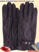 Модель № 501 Перчатки мужские из натуральной кожи на шерстяной подкладке. Кожа производства Италии.