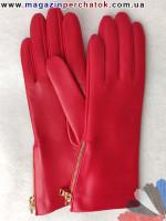 Модель № 502 - Перчатки женские из натуральной кожи на шелковой подкладке. Кожа производства Италии.