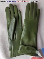 Модель № 127 Перчатки женские из натуральной кожи на шерстяной подкладке. Кожа производства Италии.