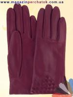 Модель № 117 Перчатки женские из натуральной кожи на шерстяной подкладке. Кожа производства Италии.