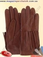 Модель № 509 Перчатки женские на шерстяной подкладке. Кожа производства Италии.