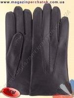 Модель № 512 Перчатки мужские на шерстяной подкладке. Кожа производства Италии.