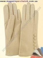 Модель № 113 Перчатки женские из натуральной кожи на шерстяной подкладке. Кожа производства Италии.
