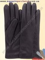 Модель № 112 Перчатки женские из натуральной кожи на шерстяной подкладке. Кожа производства Италии.