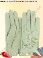 Модель № 504 Перчатки женские из натуральной кожи на шелковой подкладке. Кожа производства Италии.
