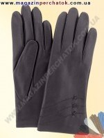 Модель № 100 Перчатки женские из натуральной кожи на шерстяной подкладке. Кожа производства Италии.