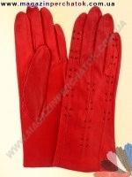 Модель № 011 Перчатки женские из натуральной кожи без подкладки. Кожа производства Италии.