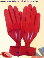 Модель № 516 Перчатки женские из натуральной кожи без подкладки. Кожа производства Италии.