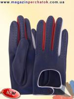 Модель № 528 Перчатки женские из натуральной кожи без подкладки. Кожа производства Италии.