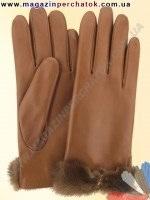 Модель № 072 Перчатки женские из натуральной кожи на шерстяной подкладке. Кожа производства Италии.