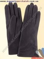 Модель № 056 Перчатки женские из натуральной кожи на шерстяной подкладке. Кожа производства Италии.