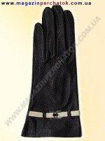 Модель № 050 Перчатки женские из натуральной кожи на шерстяной подкладке. Кожа производства Италии.