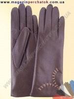 Модель № 221 Перчатки женские из натуральной кожи на шерстяной подкладке. Кожа производства Италии.