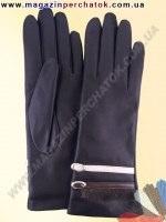 Модель № 210 Перчатки женские из натуральной кожи на шерстяной подкладке. Кожа производства Италии.