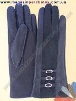 Модель № 209 Перчатки женские из натуральной кожи на шерстяной подкладке. Кожа производства Италии.