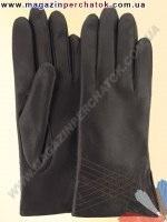 Модель № 207 Перчатки женские из натуральной кожи на шерстяной подкладке. Кожа производства Италии.