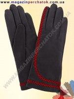 Модель № 206 Перчатки женские из натуральной кожи на шерстяной подкладке. Кожа производства Италии.