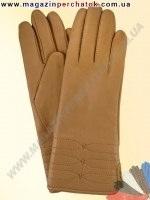 Модель № 196 Перчатки женские из натуральной кожи на шерстяной подкладке. Кожа производства Италии.