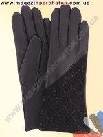 Модель № 192 Перчатки женские из натуральной кожи на шерстяной подкладке. Кожа производства Италии.