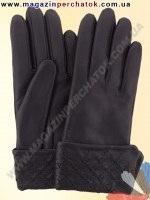 Модель № 189 Перчатки женские из натуральной кожи на шерстяной подкладке. Кожа производства Италии.