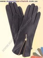 Модель № 185 Перчатки женские из натуральной кожи на шерстяной подкладке. Кожа производства Италии.