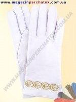 Модель № 179 Перчатки женские из натуральной кожи на шерстяной подкладке. Кожа производства Италии.