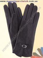 Модель № 174 Перчатки женские из натуральной кожи на шерстяной подкладке. Кожа производства Италии.