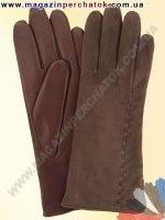 Модель № 172 Перчатки женские из натуральной кожи на шерстяной подкладке. Кожа производства Италии.