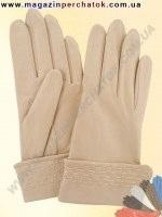 Модель № 163 Перчатки женские из натуральной кожи на шерстяной подкладке. Кожа производства Италии.