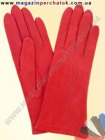 Модель № 154 Перчатки женские из натуральной кожи на шерстяной подкладке. Кожа производства Италии.