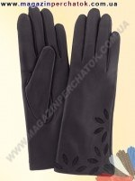 Модель № 227 Перчатки женские из натуральной кожи на шерстяной подкладке. Кожа производства Италии.