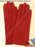 Модель № 289 Перчатки женские из натуральной кожи на шерстяной подкладке. Кожа производства Италии.