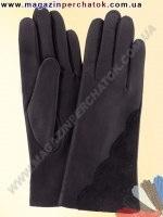 Модель № 286 Перчатки женские из натуральной кожи на шерстяной подкладке. Кожа производства Италии.