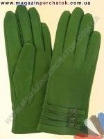 Модель № 284 Перчатки женские из натуральной кожи на шерстяной подкладке. Кожа производства Италии.