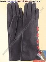 Модель № 263 Перчатки женские из натуральной кожи на шерстяной подкладке. Кожа производства Италии.