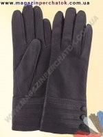 Модель № 255 Перчатки женские из натуральной кожи на шерстяной подкладке. Кожа производства Италии.