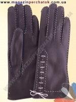 Модель № 239 Перчатки женские из натуральной кожи на шерстяной подкладке. Кожа производства Италии.