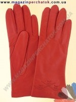 Модель № 237 Перчатки женские из натуральной кожи на шерстяной подкладке. Кожа производства Италии.