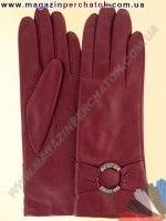 Модель № 231 Перчатки женские из натуральной кожи на шерстяной подкладке. Кожа производства Италии.