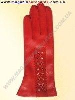 Модель № 306 Перчатки женские из натуральной кожи на шерстяной подкладке. Кожа производства Италии.