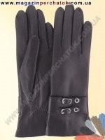 Модель № 326 Перчатки женские из натуральной кожи на шерстяной подкладке. Кожа производства Италии.