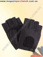 Модель № 027  Перчатки вело из натуральной кожи без подкладки. Кожа производства Италии.