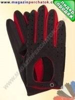 Модель № 122 Перчатки для водителей из натуральной кожи без подкладки. Кожа производства Италии.